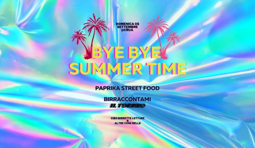 Bye bye Summer Time da Crua - Craft Beer Bar